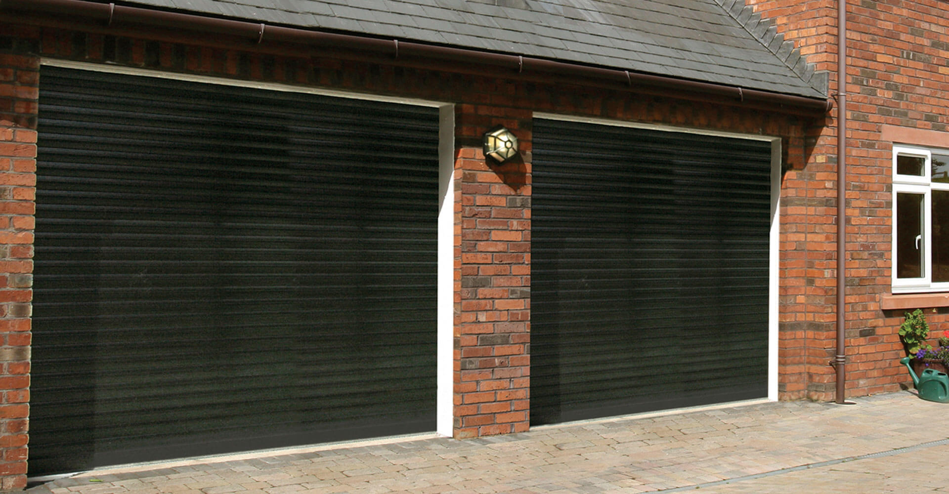 twin garage doors Newcastle